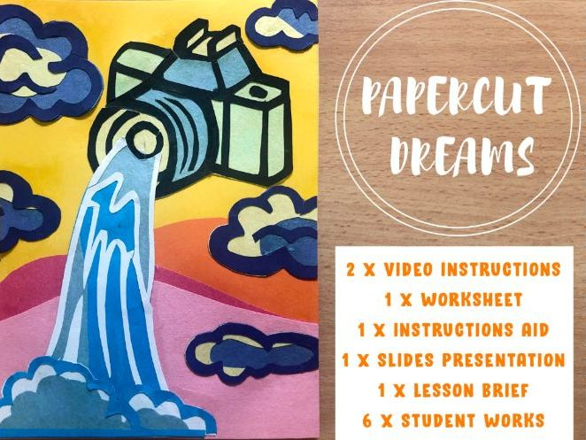 Papercutting X Dreams Imagination Art Activity