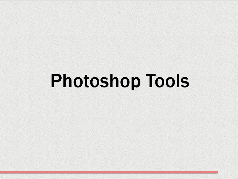 6) Photoshop Tools - Challenge Lesson