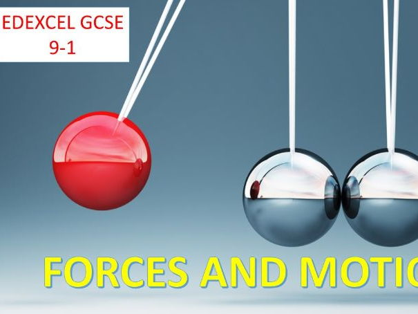 Forces and Motion GCSE 9-1 - Units, Scalars and Vectors