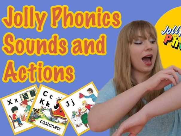 Jolly Phonics Sounds and Actions Video