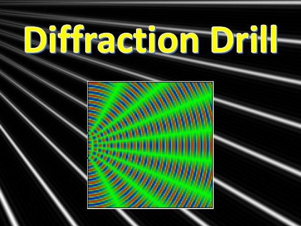 A Level Physics Wave Diffraction and Interference Drills