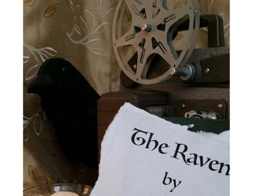 "Halloween's Coming!  ""The Raven"" Lit Bits Film Guide by Spike Literature"
