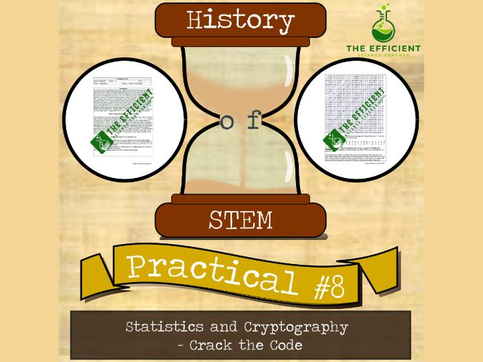 Statistics and Cryptography - History of STEM practicals - Crack the Code