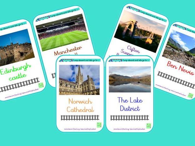 UK destination posters
