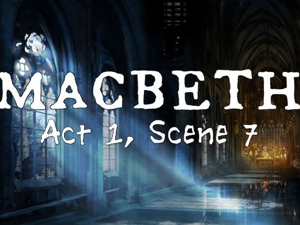 Line by Line: Macbeth (1.7)