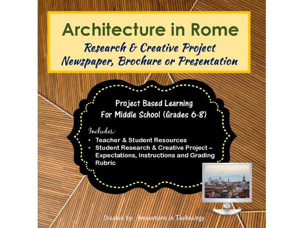 Architectural Landmarks in Rome, Italy - Research & Creative Technology Project