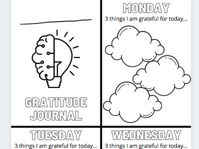 Pupil Gratitude Journals Mindfulness Wellbeing Focus