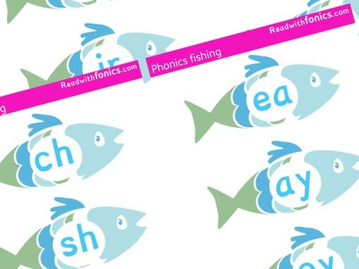 Phonics Fishing Game   Phonics Resources   Letters and Sounds