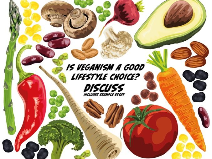 Write A Discursive Essay: Is Veganism A Good Life Style Choice? (9-14 years)