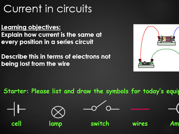 Current in circuits - Low ability
