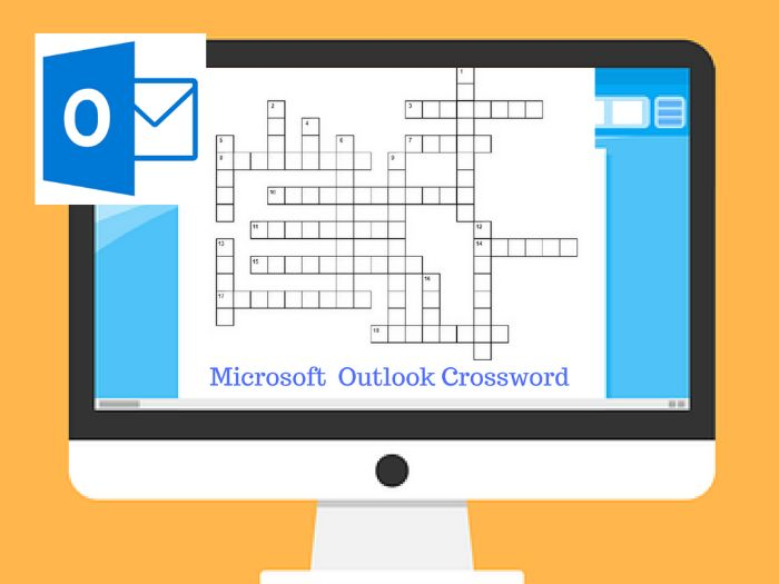 Microsoft Outlook Crossword Puzzle Activity
