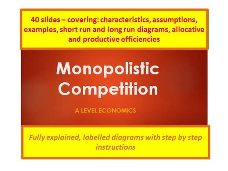 Lesson Resource: Monopolistic Competition