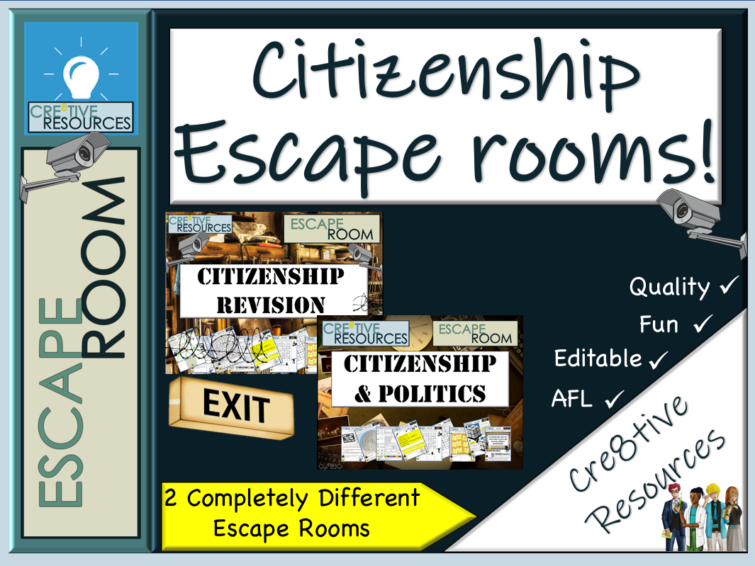 Citizenship Escape Rooms - End of Year