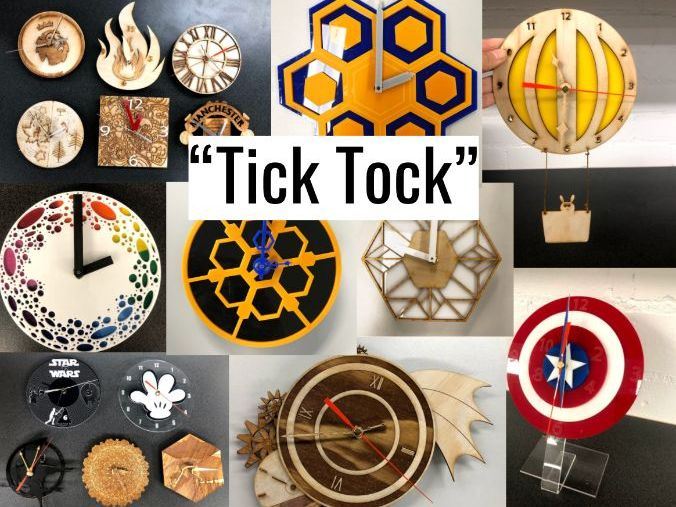 Laser Cutting Unit- Tick Tock