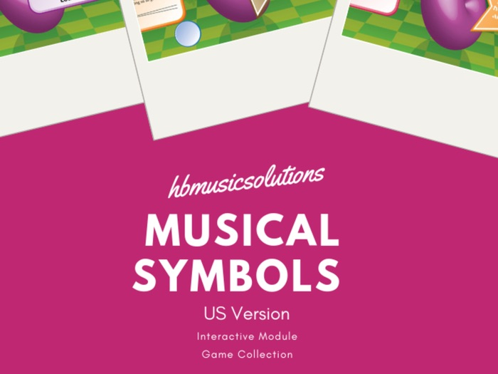 Musical Symbols US Version Interactive Music Game