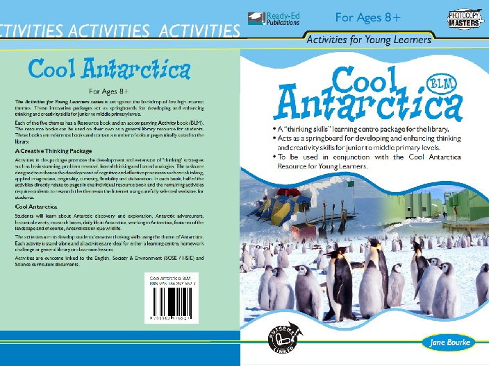 Cool Antarctica Activity Book