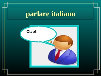 ARE activities in Italian
