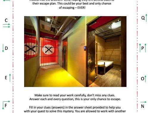 Crack the Code / Escape Room