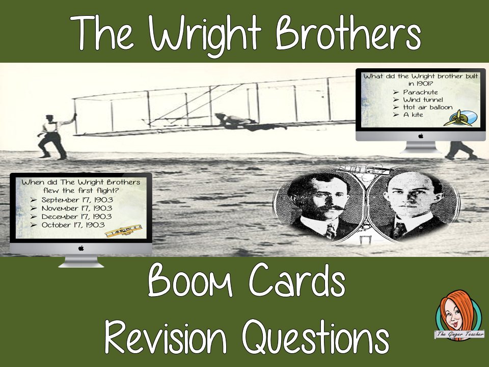 The Wright Brothers Revision Questions