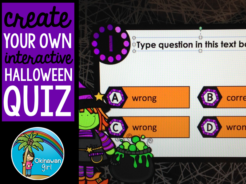 Create Your Own Halloween Quiz in PowerPoint