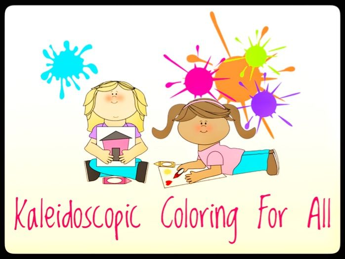 Coloring Activities. Kaleidoscopic Coloring for all