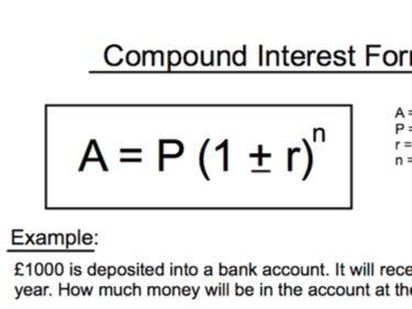 GCSE Maths - 10 Q + A - Compound Interest Formula