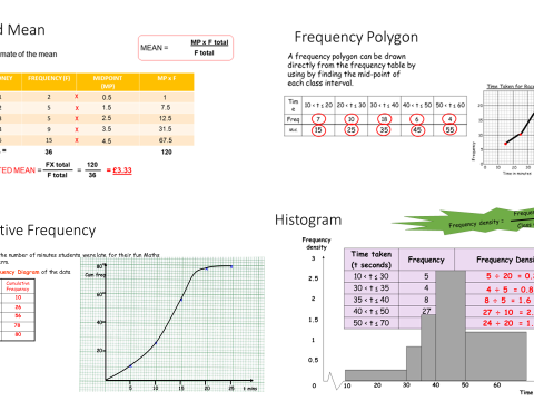 SSDD - Histograms, Estimated Mean, Cumulative Frequency, Frequency Polygon ppt