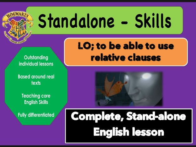 Outstanding STANDALONE SKILLS lesson.  RELATIVE CLAUSES