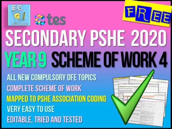 Year 9 PSHE Scheme of Work 4 - Careers + Enterprise
