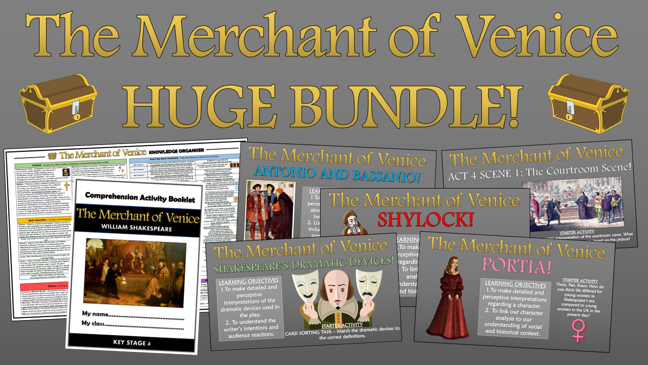 The Merchant of Venice Huge Bundle!