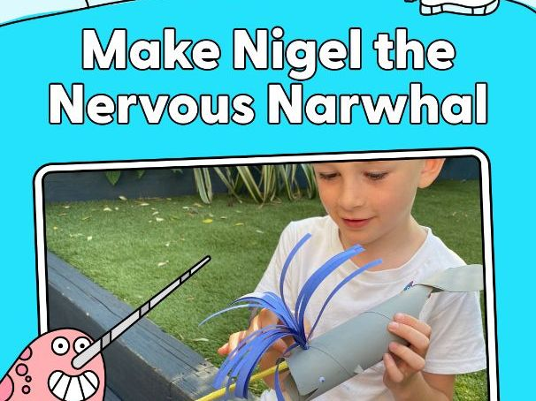 Activity - Make Nigel the Nervous Narwhal