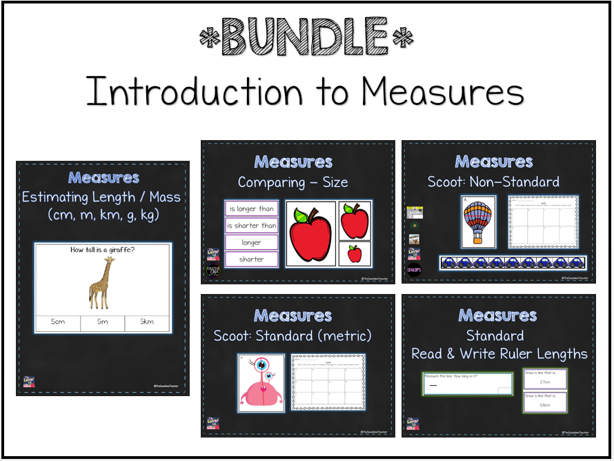 Introduction to Measures - Maths - KS1 - LKS2