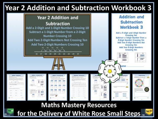 Addition and Subtraction: Year 2 - Autumn Term Block 2 - Workbook 3 - To Support White Rose Maths