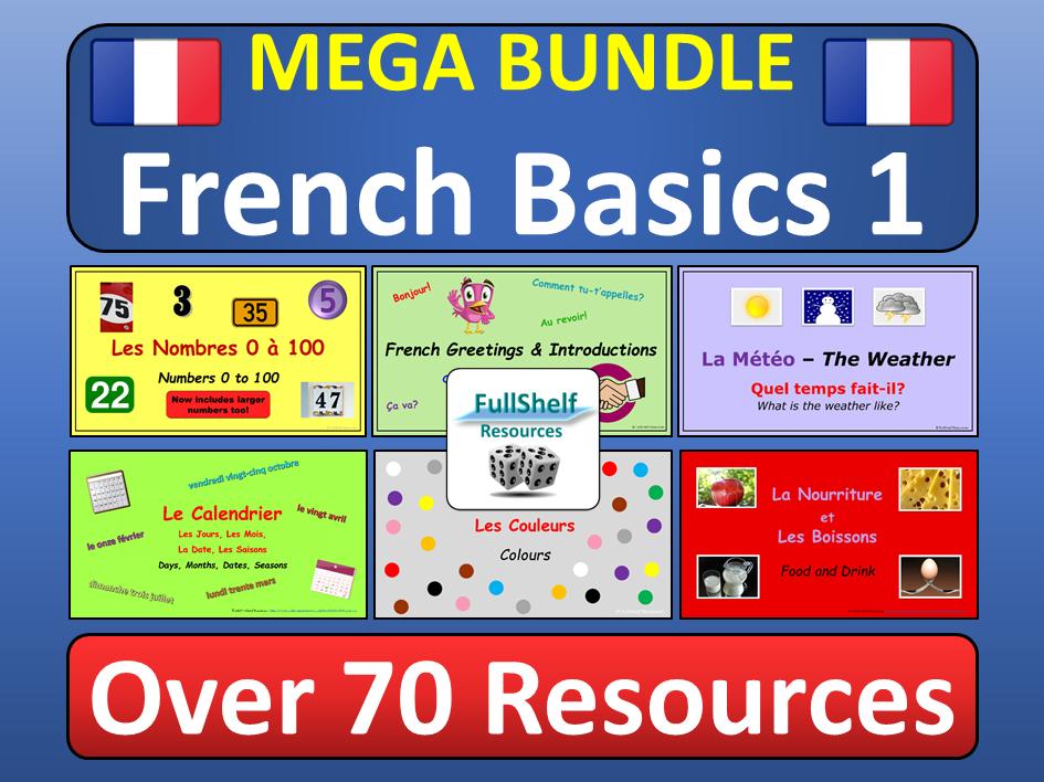 Beginners French KS2 KS3