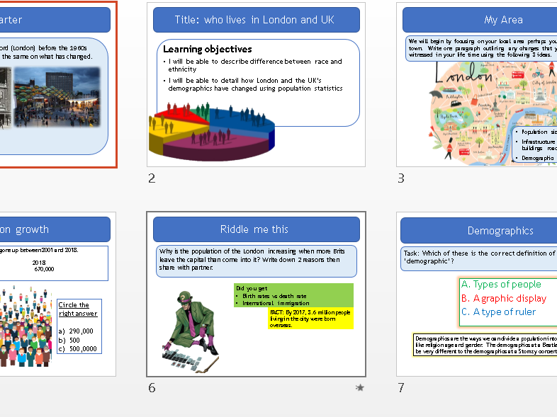 Who lives in your place -Race and Religion  - Geography Entry Level Topic 1 -Our World  - OCR R407