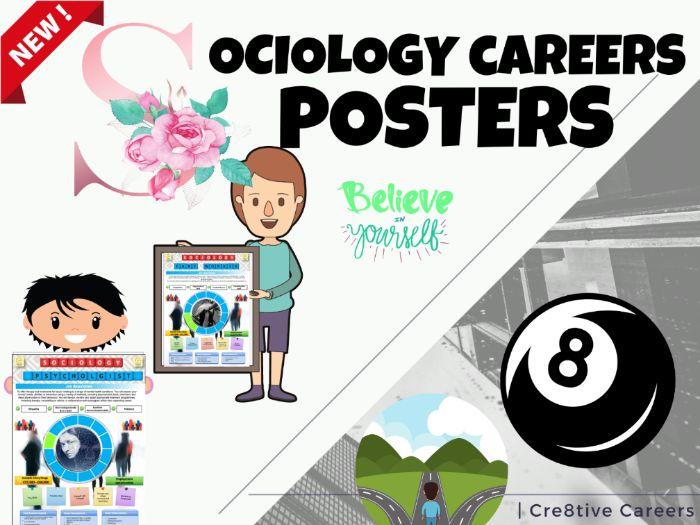 Sociology Careers Posters