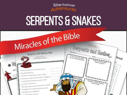 Bible Miracles: Serpents & Snakes (Moses before Pharaoh)