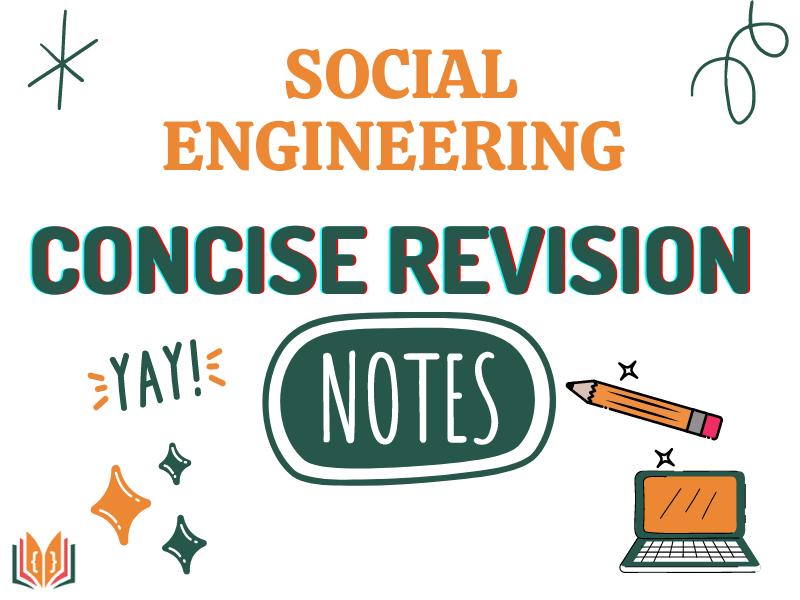 Social Engineering GCSE Revision Notes