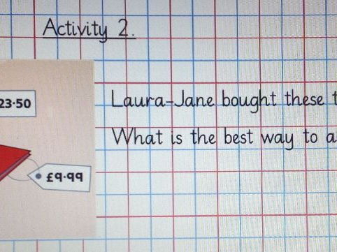 Year 5 Decimals-lesson plan and a notebook (IWB)