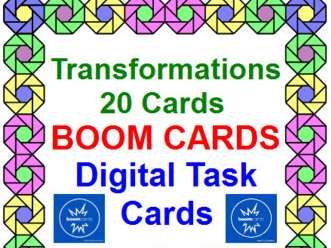 "TRANSFORMATIONS: ""DIGITAL"" BOOM CARDS (20 TASK CARDS)"