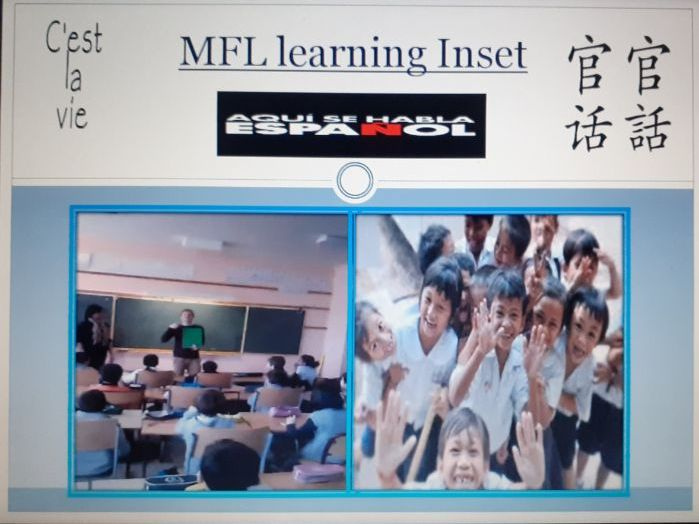 Modern Foreign Languages learning Inset PPT