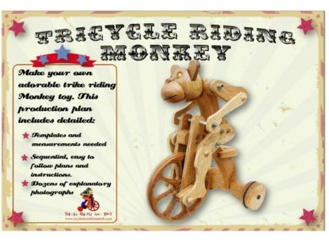 Tricycle Riding Chimp Toy Extension Task