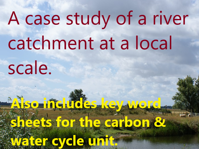 2021 AQA  Water & Carbon revision