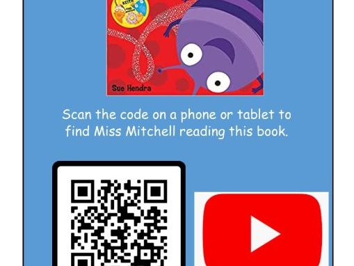 QR Code for a Library to Link to Youtube Books