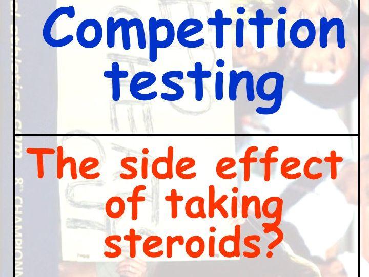 Drugs in Sport Dominoes GCSE PE Revision / Starter