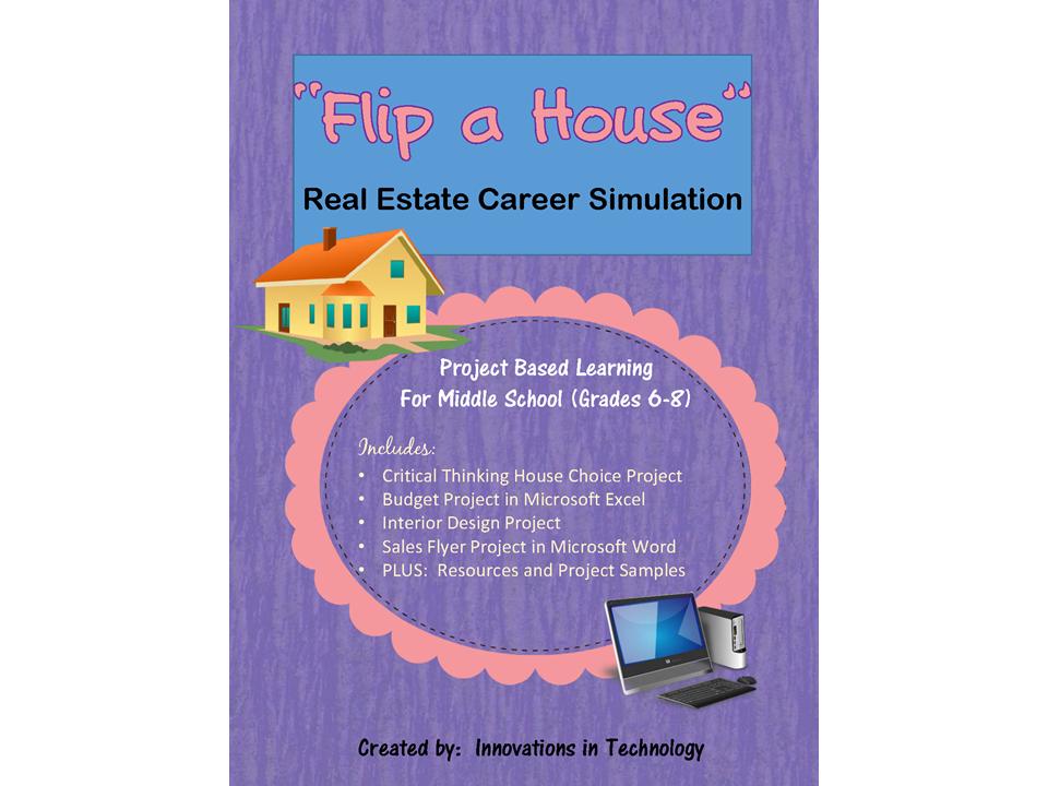 "Career Simulation: Real Estate Investor - ""Flip"" a House"