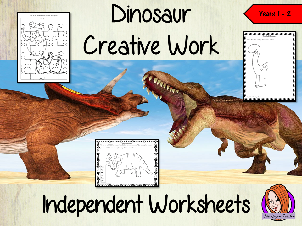Dinosaur Themed Independent Creative Work - Year 1/2