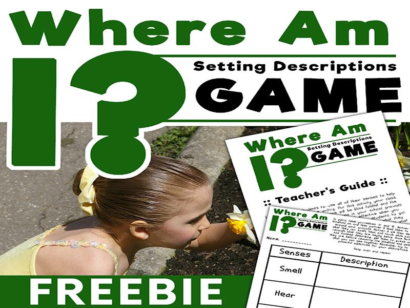 Setting Description Writing - Where Am I Game