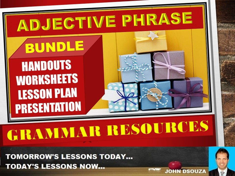 ADJECTIVE PHRASE; BUNDLE