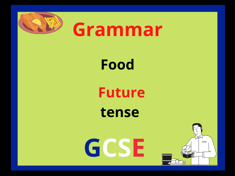 French future tense - food